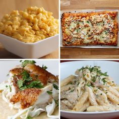 Featuring Easy Fish Tacos, 3-ingredient Mac & Cheese, BBQ Chicken Dippers and Easy Chicken Alfredo Penne