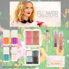 Flower by Drew: Drew Barrymore's Cosmetic Line picks.  Read all about it on our site