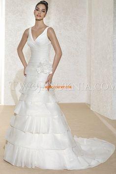 Elégant & Luxueux Automne Fleurs Robes de mariée 2014