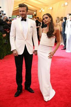 David Beckham in Ralph Lauren - METGALA 2014 #METGALA