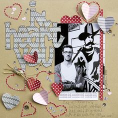 Layout by Leslie Ashe   #scrapbook #lilybee #lilybeedesign