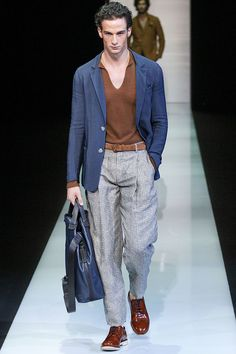 Giorgio Armani Menswear - Pasarela