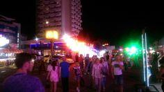 Sunny beach, bulgaria main strip Sunny Beach, Ibiza, Places Ive Been, Sunnies, Vacation, Concert, Cosmopolitan, Vacations, Sunglasses