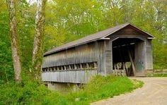 Old covered bridge