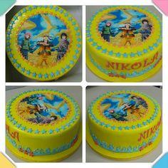 Snowman Cake, Birthday Cake, Desserts, Food, Tailgate Desserts, Deserts, Birthday Cakes, Essen, Postres
