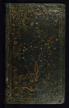 "thevintagearab: "" Poem (masnavi), Original binding, Walters Manuscript W.656, Lower board outside by Walters Art Museum Illuminated Manuscripts on Flickr. """