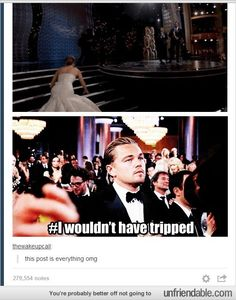 Let's face it, Leo without an Oscar posts are the best...