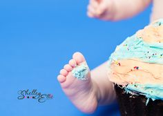 Good shot of frosting on feet. Will have to try this