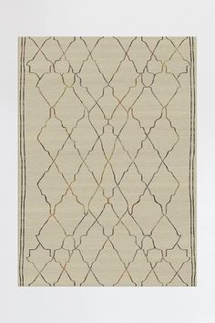 Marrakesh Natural Multicolor Rug | Washable Rug | Ruggable