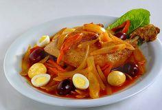 Escabeche de pollo - Chicken Marinade - Peruvian gastronomy