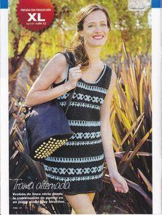 Crochetemoda: Vestido de Crochet