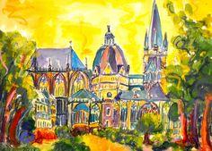 Der Kölner Dom und andere heilige Orte - Kirchen, Tempel und Moscheen als…