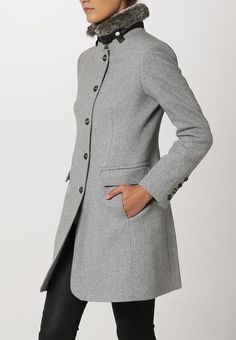 Cinque - Wollmantel / klassischer Mantel - grau