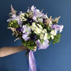 Blue Flowers Bouquet, Spring Bouquet, Floral Wreath, Wreaths, Decor, Decoration, Decorating, Door Wreaths, Dekorasyon