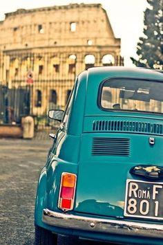 Roma e Fiat 500 Toscana, Vespa, Oh The Places You'll Go, Places To Travel, Rome Florence, Voyage Rome, Italian Lifestyle, Fiat 600, Living In Italy