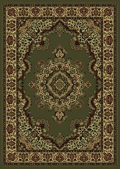 Details: Brand: Radici USA Collection: Castello Style: Design: 1191 Origin: Italy Material: Olefin Description: Beautiful Machine Made Area Rugs made of durable and easy to clean olefin. Made using a heat-set technique to ensure a soft touch. Victorian Rugs, Traditional Area Rugs, Machine Made Rugs, Green Carpet, Light Blue Area Rug, Modern Rugs, Beige Area Rugs, Colorful Rugs, Rugs On Carpet