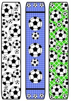 free printable bookmarks soccer | football/soccer bookmarks by Kristin Guyer