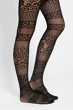 Geo Crochet Tight - Urban Outfitters
