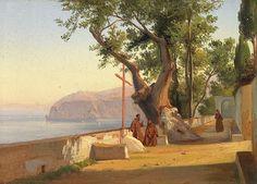 CONSALVO CARELLI - Monges no terraço