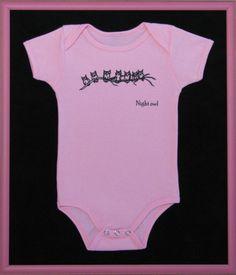 pink baby onesie