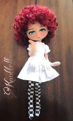 Best 10 Crochet Amigurumi Doll Hair Ideas For 2019 – SkillOfKing. Crochet Fairy, Cute Crochet, Crochet Crafts, Crochet Projects, Knit Crochet, Beautiful Crochet, Crochet Dolls Free Patterns, Crochet Doll Pattern, Amigurumi Patterns