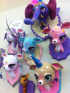 Stitch of Whimsy faux taxidermy