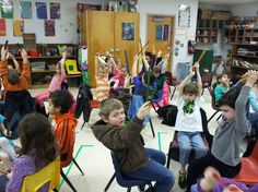 Musical Musings: Kagan Music Structure! A Variation of Round Robin With Instruments
