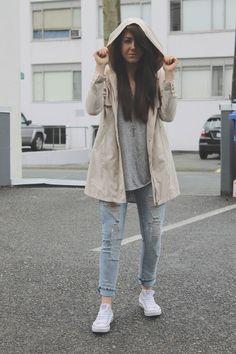 Rainy days, fall fashion, spring fashion www.livingboldly.ca