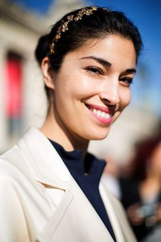 On the Street…All Smiles, Paris | The Sartorialist | Bloglovin'