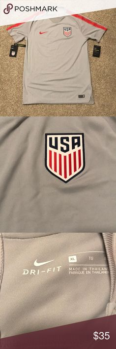 7218fcc63823 USA soccer jersey Brand new with tags Nike Shirts Tees - Short Sleeve