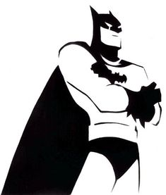 batman stencil - Google Search                                                                                                                                                                                 More