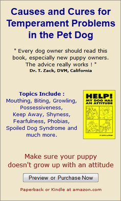 Dog and Puppy Training Book