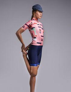 a768153f3 Full Gas LunaAIR   Locals UTD Jersey   W   - Peach Cycling Gear