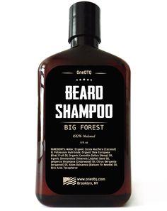 Big Forest Beard Shampoo - 8 fl oz from OneDTQ - Best Beard Care