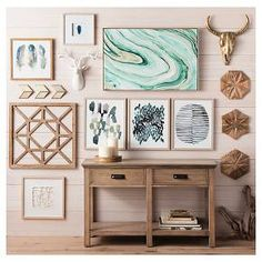 """The Porcelain Flower Wall Decor brings texture and natural patterning to your wall. It's made of ceramic with a glossy glaze in clean, crisp white. With its 8"""" diameter, this beautiful wall accent is perfect for smaller walls or groupings of wall art."""