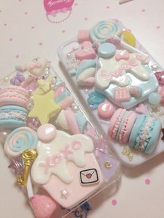 Welcome on we heart it pastel ♡ kawaii phone case, kawaii shop и decoden ph Kawaii Phone Case, Girly Phone Cases, Decoden Phone Case, Diy Phone Case, Iphone Cases, Kawaii Shop, Kawaii Cute, Kawaii Style, Diy Clay