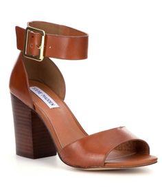 Cognac:Steve Madden Estoria Sandals
