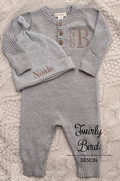 5a1f745bc22 Baby Boy Coming Home Outfit Winter by TwirlyBirdDesign on Etsy Baby Boy  Clothes Boutique