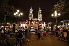 Parque de la Independencia en Campeche