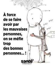 #citations #vie #amour #couple #amitié #bonheur #paix #esprit #santé #jeprendssoindemoi sur: www.santeplusmag.com Law Of Detachment, French Language Lessons, Quote Citation, Powerful Words, Mood Quotes, Love Life, Sentences, Affirmations, Love