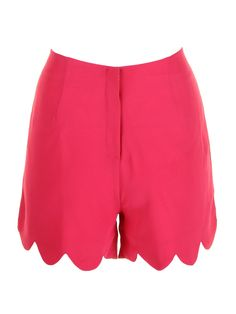 Scallop Shorts Watermelon