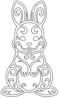 Easter Coloring Pages, Coloring Book Pages, 3d Zeichenstift, Easter Arts And Crafts, Kirigami, Scroll Saw Patterns, Metal Art, Diy For Kids, Paper Flowers