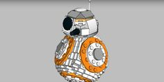 Lego fans are lobbying to make this adorable droid set official.