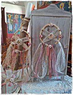 Ρομαντικός Στολισμός Βάπτισης stb082 - Οικονομικές μπομπονιέρες , προσκλητήρια , γάμος , βάπτιση , στολισμός
