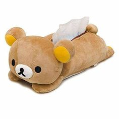 This Rilakkuma tissue box cover will look absolutely adorable lounging on your coffee table. | 23 Ridiculously Cute Products You'll Want Immediately