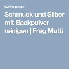 Schmuck und Silber mit Backpulver reinigen | Frag Mutti