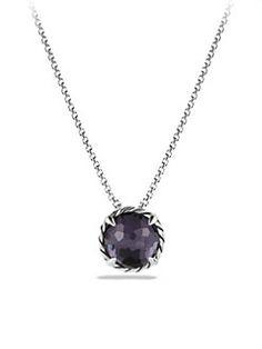 David Yurman - Châtelaine Pendant Necklace with Lavender