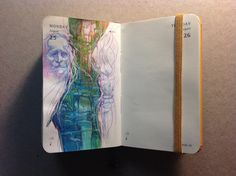 Number 237 of 365 of Kenneth Rocafort's 365 sketch project (2014)