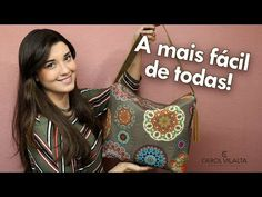 A bolsa mais fácil do mundo! | Aula completa - YouTube Homemade Bags, White Pants Outfit, Purse Tutorial, Weaving Art, Quilted Bag, Cute Bags, Sewing Patterns Free, Beautiful Bags, Bag Making