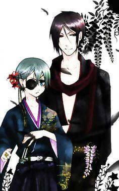 Ciel & Sebastian. .kuroshitsuji